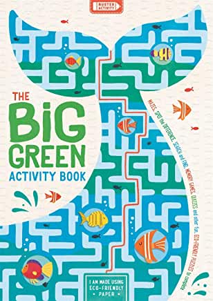 The Big Green Activity Book by Damara Strong (Buster Books)
