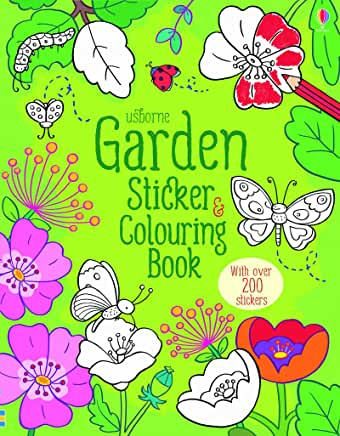 Usborne Garden Sticker book