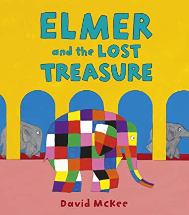Elmer and the Lost Treasure by David McKee (Andersen Press)