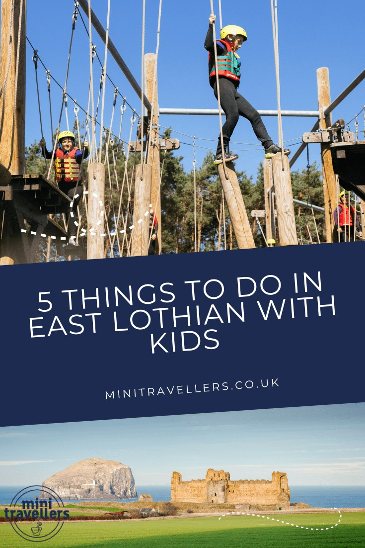 5 things to do in esat lothian scotland with kids