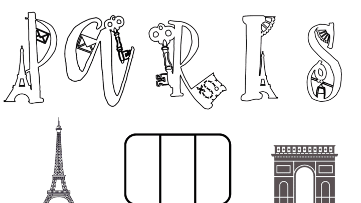 Free Printable Extraordinary Travellers Colouring Alphabet