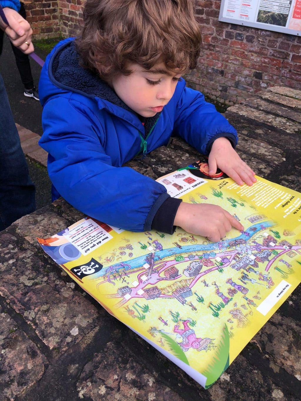 Treasure Map Trails