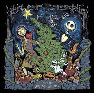 Disney Tim Burton's The Nightmare Before Christmas: Pop Up Advent Calendar (Studio Press)