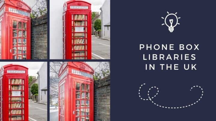 Phone Box Libraries in the UK