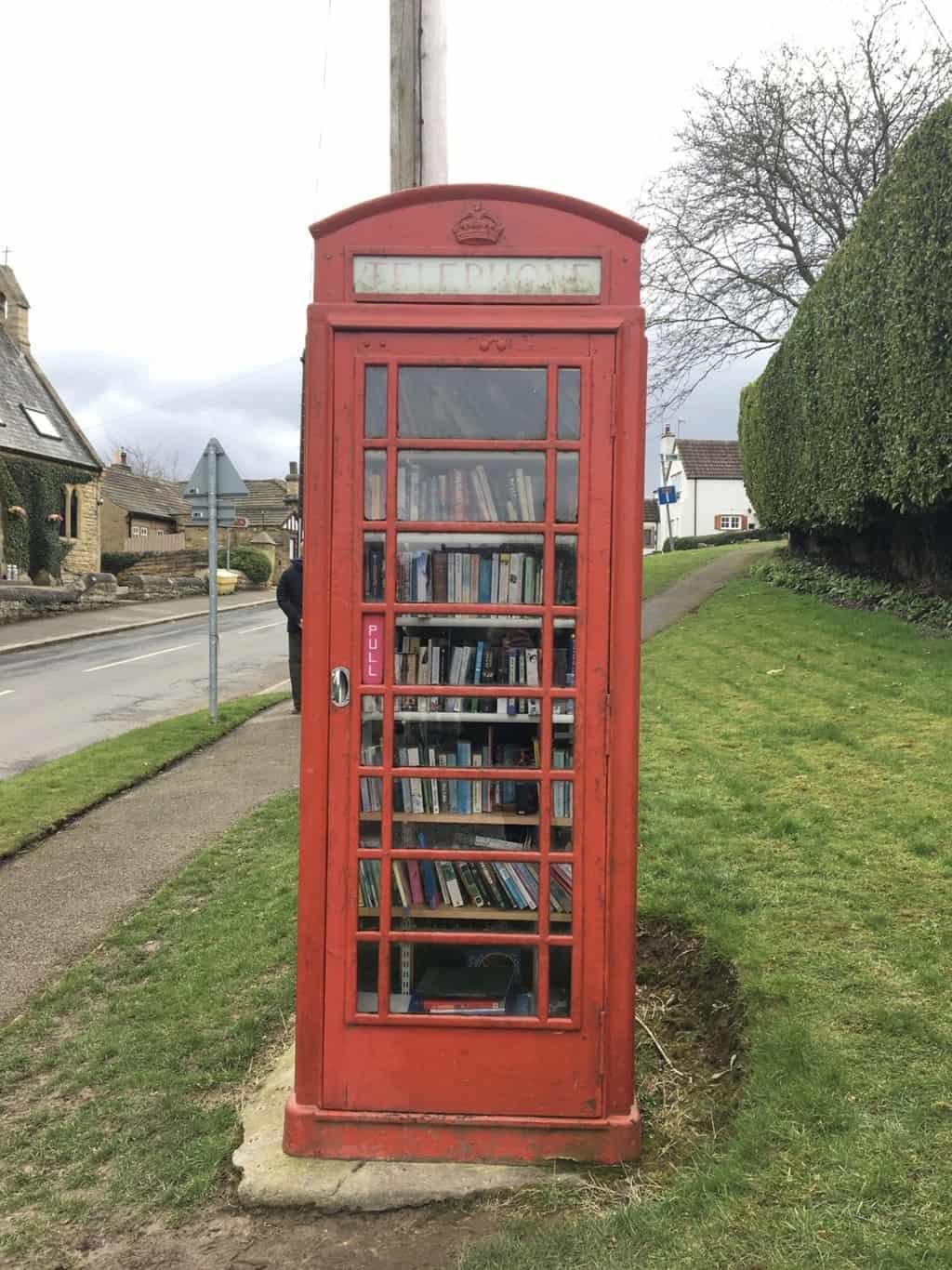 Linton Phone Box Library, North Yorkshire