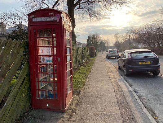 Harrogate, Phone Box Library, North Yorkshire