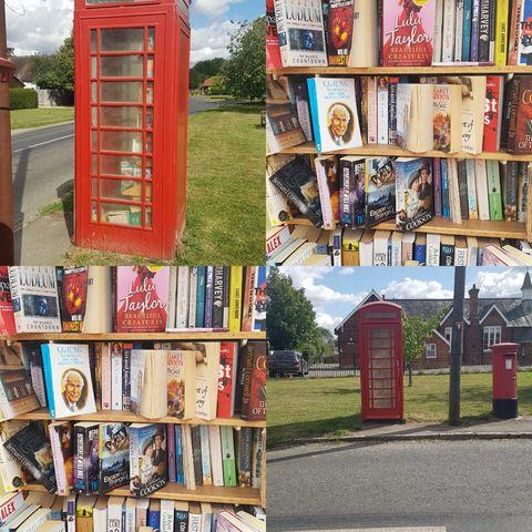 Henham Phone Box Library, Essex