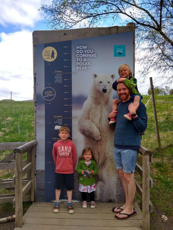 The Highland Wildlife Park, near Aviemore