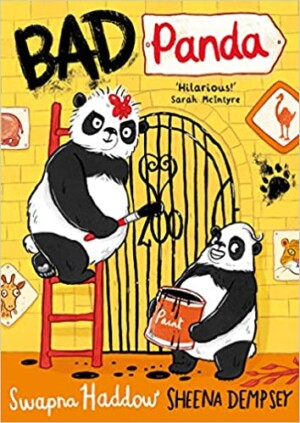 Bad Panda written by Swapna Haddow, illustrated by Sheena Dempsey (Faber & Faber)